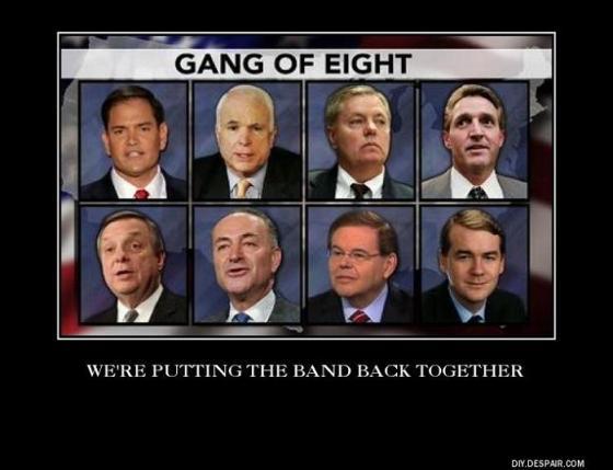 Gang of Eight gang back together