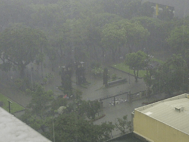 UST Main Gate Flooded