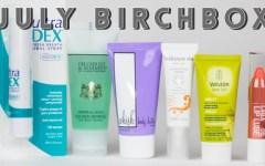 july birchbox review