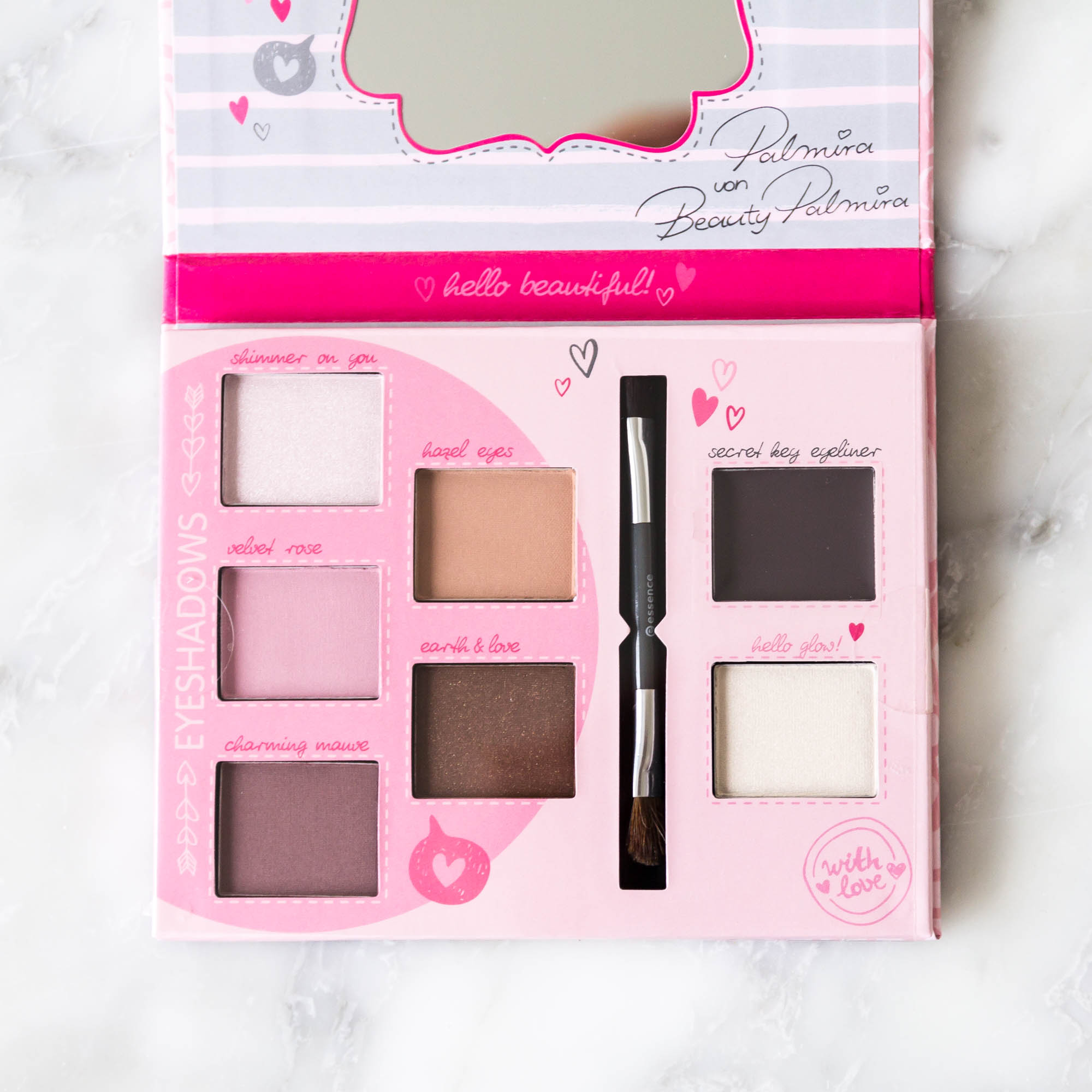 essence cosmetics vintage rose eye palette