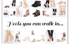 Heels you can walk in
