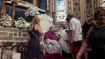 Processione Madonna della Consolazione Reggio Calabria - Vescovo Giuseppe Fiorini Morosini 3