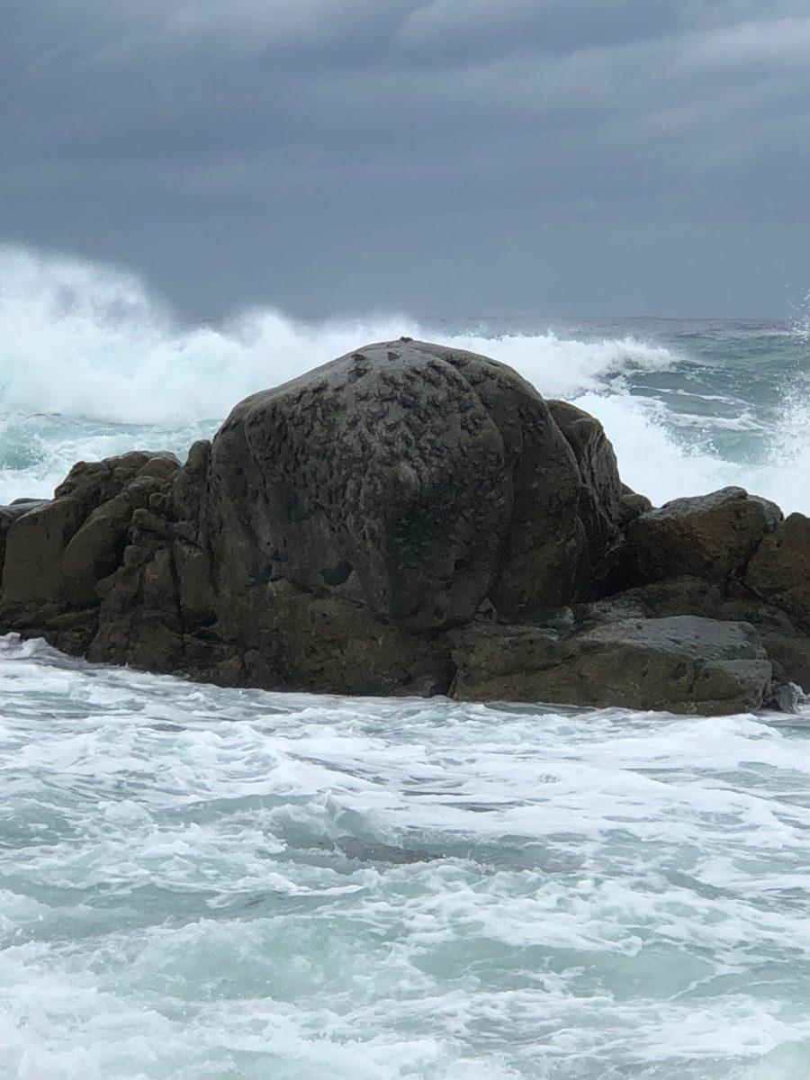 Ocean Rock Wave