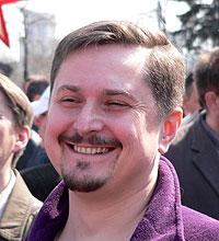 Владимир Тор, лидер движения «Русский порядок». Фото «Stringer»