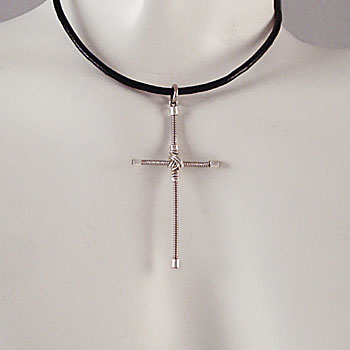 Rick Springfield Guitar String Cross