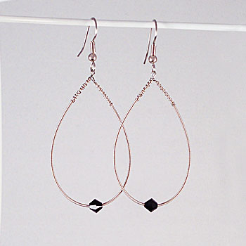 jimmy stafford train guitar string earrings. Black Bedroom Furniture Sets. Home Design Ideas