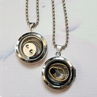 Chris Cornell Guitar Strings Locket
