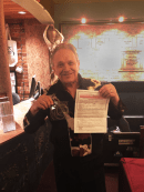 Jimmie Vaughan donates his brothers played guitar strings