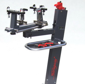 Foot operation machines