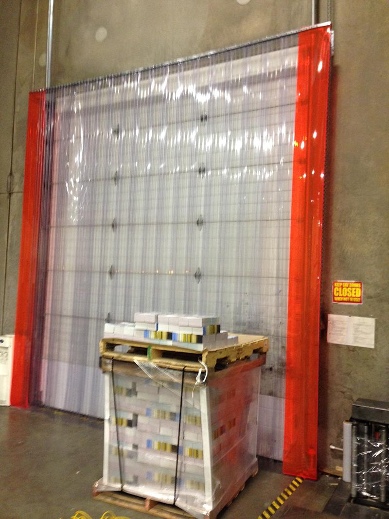 stand off strip door kit strip