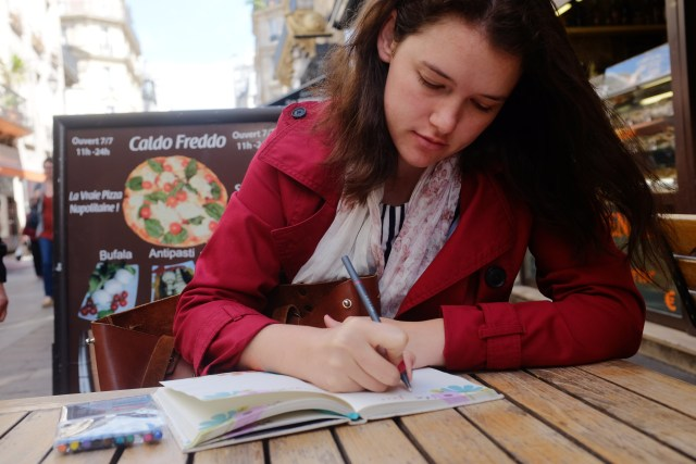 Journaling in Paris