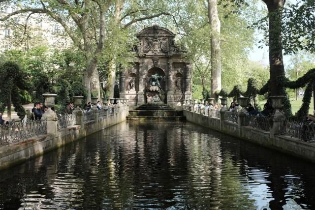 Luxembourg Gardens, Paris France