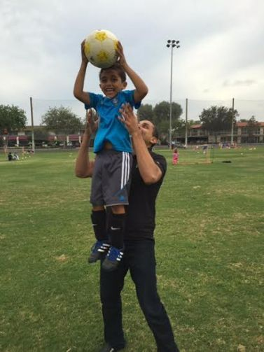 Andrew and Son Soccer