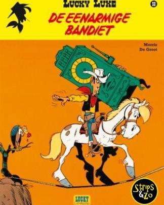 Lucky Luke - Relook 50 - De eenarmige bandiet