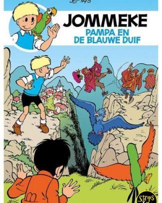 Jommeke 291 - Pampa en de blauwe duif