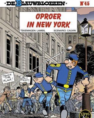 Blauwbloezen 45 Oproer in New York 2