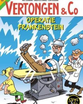 Vertongen & Co 25 - Operatie Frankenstein