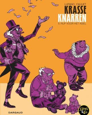 Krasse Knarren 5 - Rijp voor het asiel
