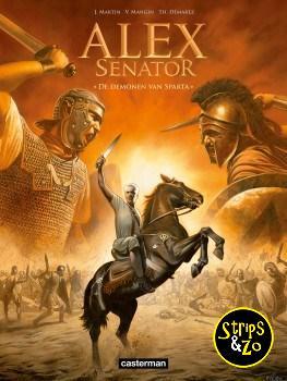 Alex Senator 4 - De demonen van Sparta