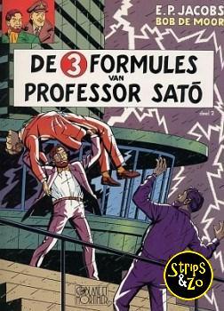 Blake en Mortimer 12 - De 3 formules van prof. Sato deel 2