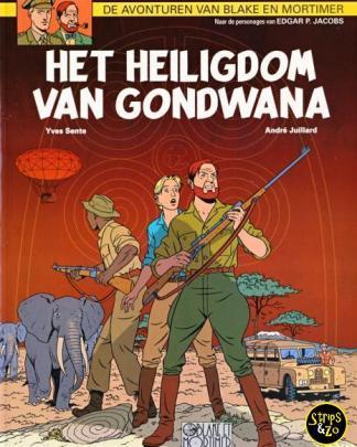 Blake en Mortimer 18 - Het heiligdom van Gondwana