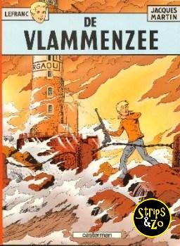 Lefranc 2 - De vlammenzee