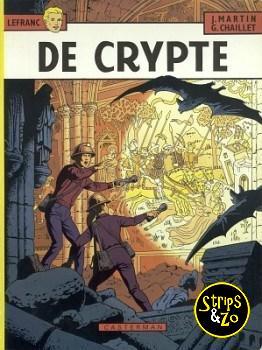 Lefranc 9 - De crypte