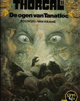 Thorgal 11 - De ogen van Tanatloc