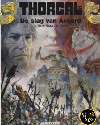 Thorgal 32 - De slag van Asgard