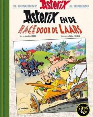 Asterix LUXE 37 - Race door de laars