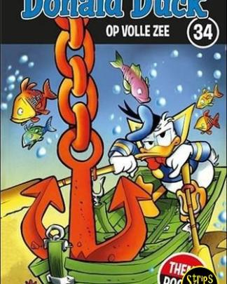 donald duck themapocket 34 Op volle zee