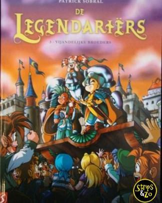 Legendariërs, De 3 - Vijandelijke Broeders