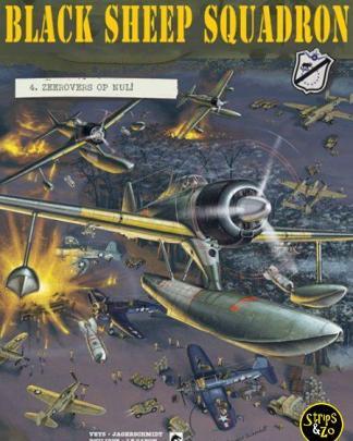 black sheep squadron 4 Corsair tegen Zero