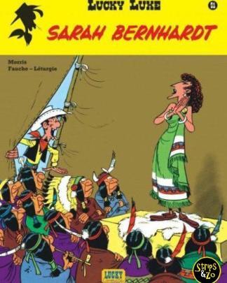 Lucky Luke - Relook 51 - Sarah Bernhardt