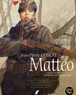 Matteo 5 Vijfde Periode september 1936 januari 1939