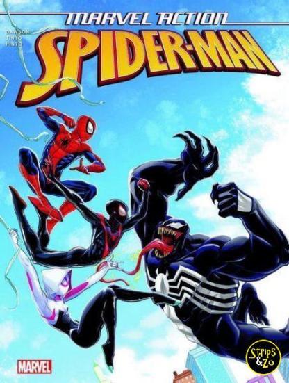 Marvel Action Spider Man 4 Venom