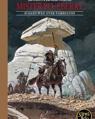 30042 blueberry sherpa uitgaven mister blueberry 2 schaduwen over tombstone hardcover sherpa