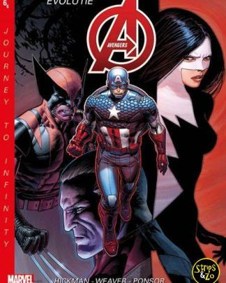 New Avengers Journey to Infinity 6 Evolutie 2