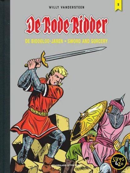 de rode ridder de biddeloo jaren 3 integraal luxe