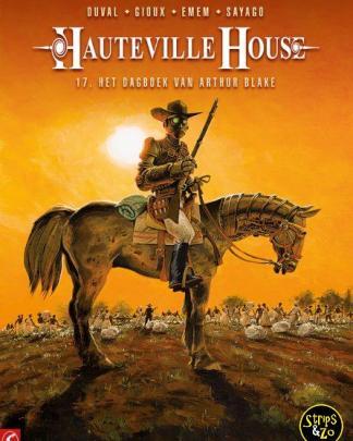 Hauteville House 17 Het dagboek van Arthur Blake
