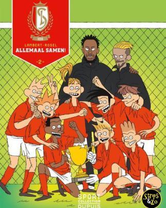 Voetbalcollectie Standard Luik 2 Allemaal samen