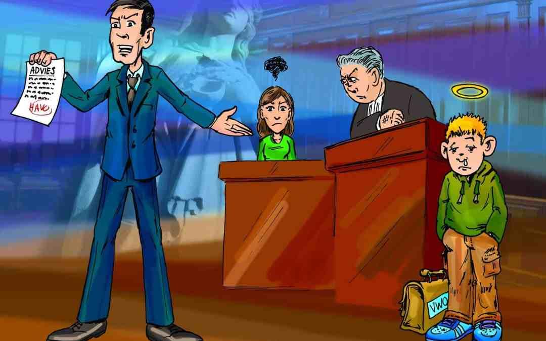 Illustratie Schooljournaal over Claims ouders schoolniveau