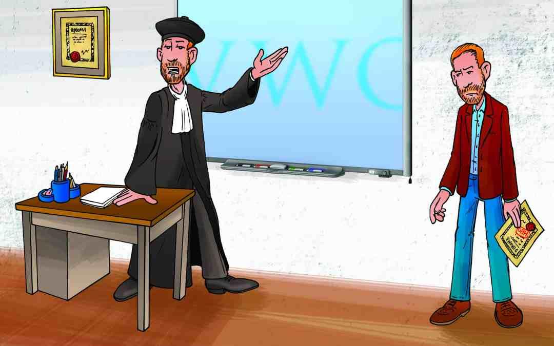 Illustratie Schooljournaal academicus versus vwo