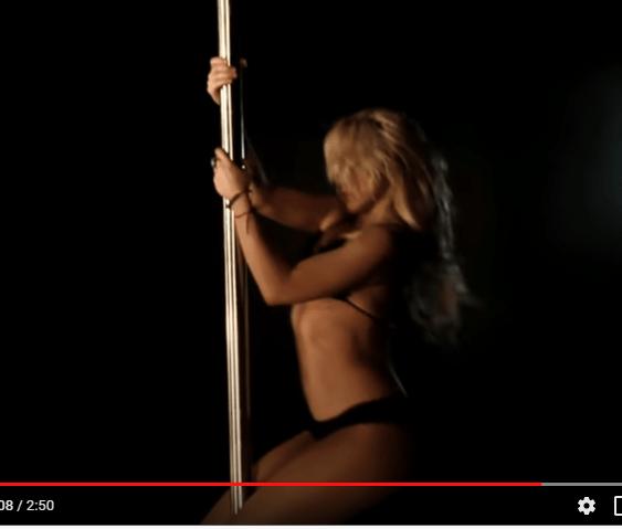 Shakira Pole Dancing