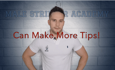 😏4 Ways To Earn More Tips - Male Stripper Academy Tutorial