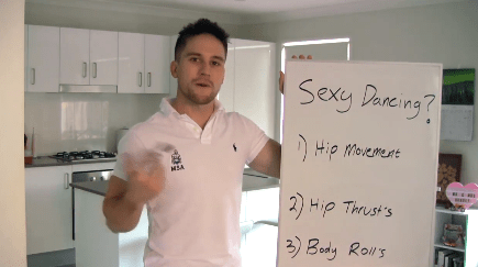 Male Stripper Dance Moves - 3 Tips for SEXY dancing!