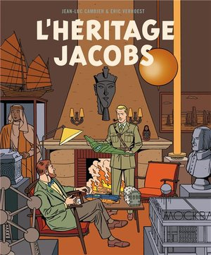 l'héritage jacobs, 9782870972793, blake en mortimer