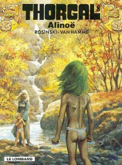 Alinoë, Thorgal 8, Strip, Stripboek, Kopen, Bestellen, online, album
