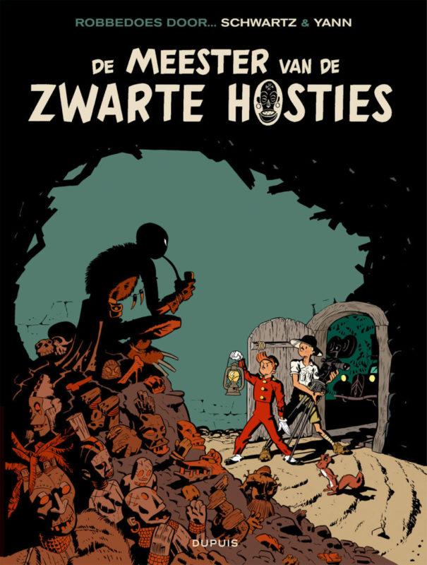 Robbedoes door 11, Meester van de Zwarte Hosties, Strip, stripboek, stripverhaal, luipaardvrouw, kopen, bestellen