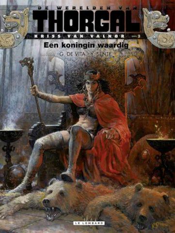 Thorgal, Werelden van Thorgal, Kriss van Valnor 3, Een Koningin Waardig, 9789055817948